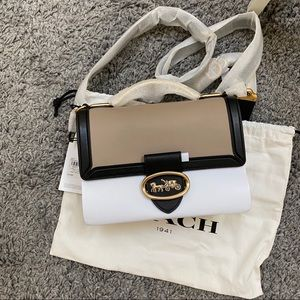 NWT COACH Riley Top Handle 22 Crossbody Handbag